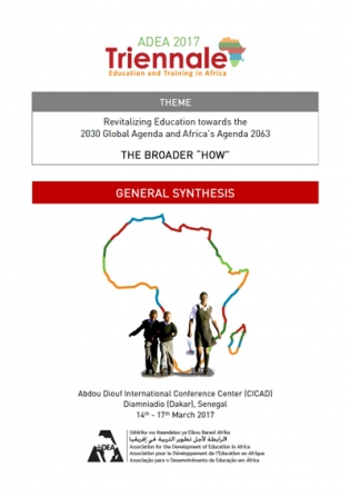 adea 2017 triennale general synthesis: revitalizing education towards the  2030 global agenda and africa's agenda 2063